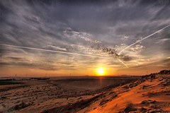 Sunset near the village of Alrrabieih (3abr ) Tags: sunset village near      alrrabieih
