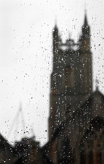 Wet Wednesday (HollyRuthven) Tags: city winter wet rain southwales wales gloomy january cardiff saintjohnbaptistchurch