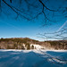 snowscape (nosha) Tags: blue sky mountain holiday snow beautiful beauty vermont hills vt lightroom nosha