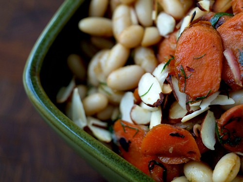 Warm Bean and Carrot Salad with Dill 1