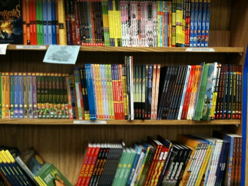 Anderson's Graphic Novel Section