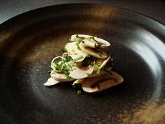 Paris Mushroom Soup: Plated Garnish