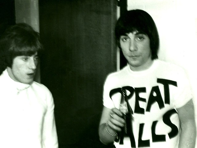 1967 - The Who - Roger Daltrey + Keith Moon - Backstage