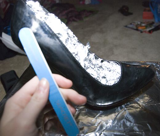DIY GlitterShoes2