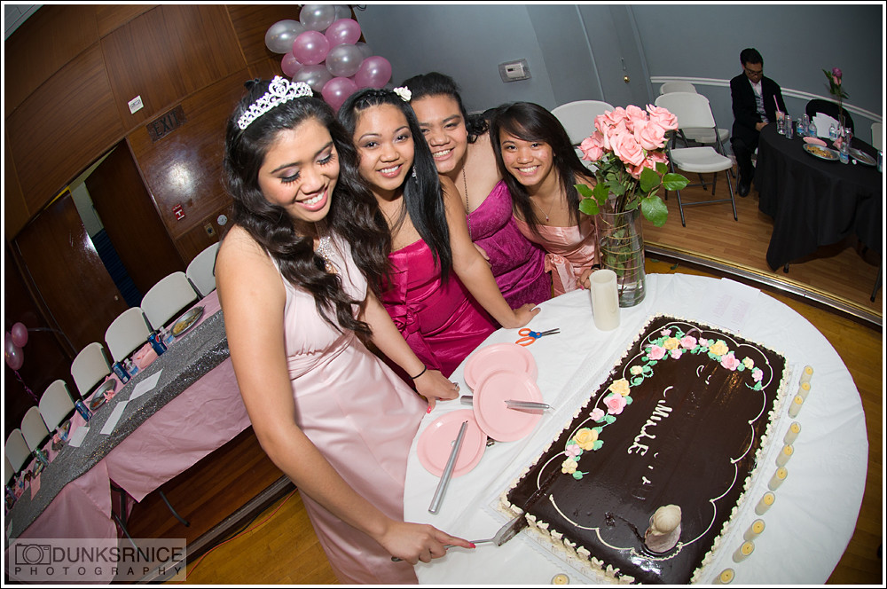 Camille's 18th birthday.