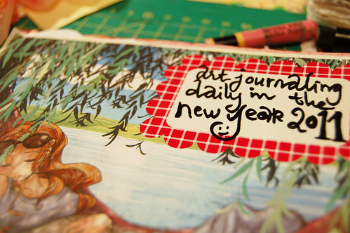 Art Journal Every Day 2011