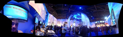 Blogging at NBC Universal's The Hub at CES 2011
