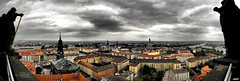 Dresden Panorama (miksir) Tags: panorama statue germany dresden nikon wolken stadt rathaus frauenkirche hdr pseudo d40