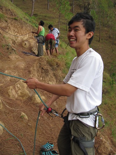 Rock Climbing - belaying