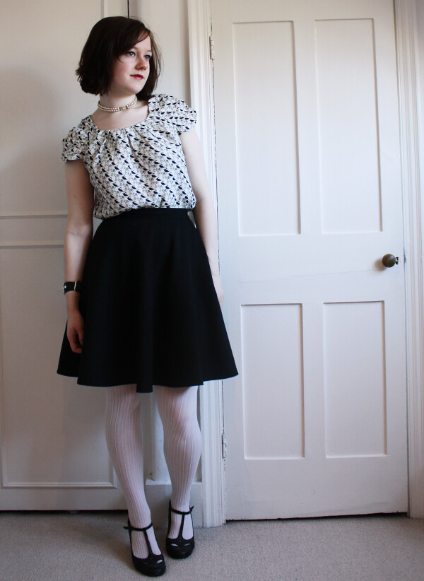 work outfit, daily outfit, zara skirt,dune shoes, Dorothy Perkins top, marc by marc jacobs watch