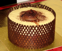 Our Christmas Pud (tubblesnap) Tags: from white cherry cherries chocolate pudding marks merry spencer sponge base choc mousse kirsch