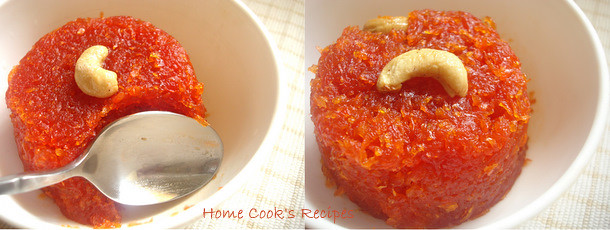 Low fat Gajar ka halwa
