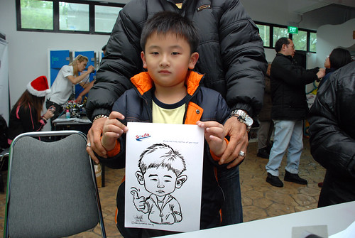 Caricature live sketching for Snow City - Day 8 - 5