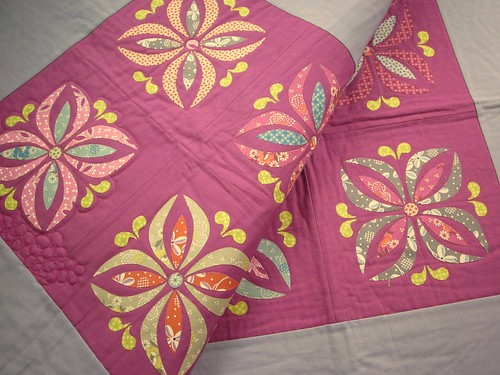 Floral Medallion Pillows - a mess
