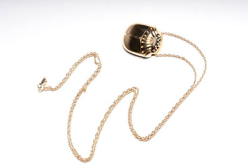 Isis Scarab Collection Necklace