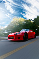 Reminiscing S2000 (ojsantiago21) Tags: sunset honda nikon photographer cincinnati automotive rig impact s2000 manfrotto ap1 d300 superclamp automotivephotographer rigshot ojsantiago