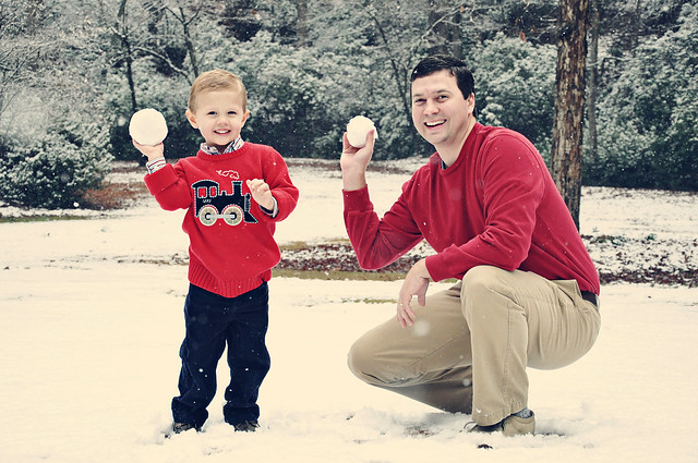 benjamin and benson with snowballs vintage