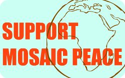 Mosaic Peace Button3