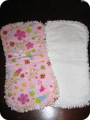 Homemade by Jill Burp Cloth