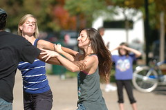 "flash mob 1.2 at Oak Park Public Library<br /><span style=""font-size:0.8em;"">dancers: Lindsey Frattare (L) and Grace Whitworth<br />photo by Wednesday Journal</span> • <a style=""font-size:0.8em;"" href=""https://www.flickr.com/photos/18007015@N00/5352377991/"" target=""_blank"">View on Flickr</a>"