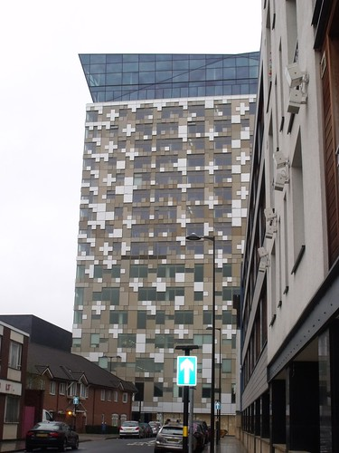 The Cube from Washington Street