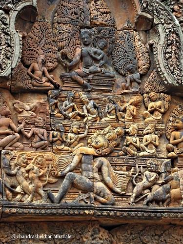 ravana shaking himalaya