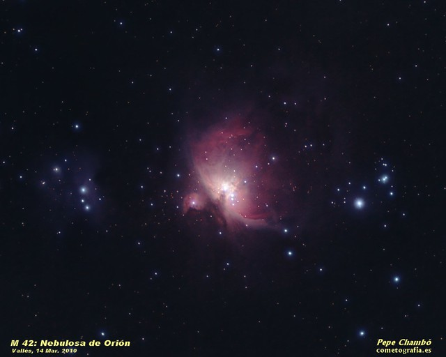 M 42: Orion Nebula