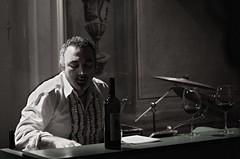Sam Paglia live at Zingar (lorenzog.) Tags: show italy music night concert nikon italia jazz jazzclub faenza d300 2011 sampaglia zingar