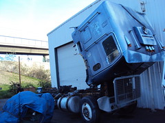 project powerliner (hanks1961kw) Tags: big diesel detroit rig v8 coe kenworth freightliner cabover largecar 8v92