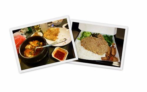 台湾:お弁当&韓国料理