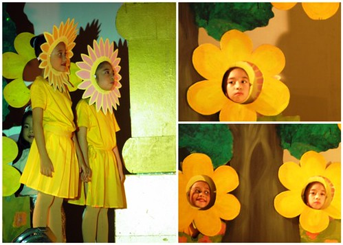 stage flower, flower dance, flower costume