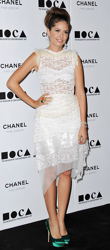 Actress Dasha Zhukova arrives at MOCA Presents: Envisioned By A