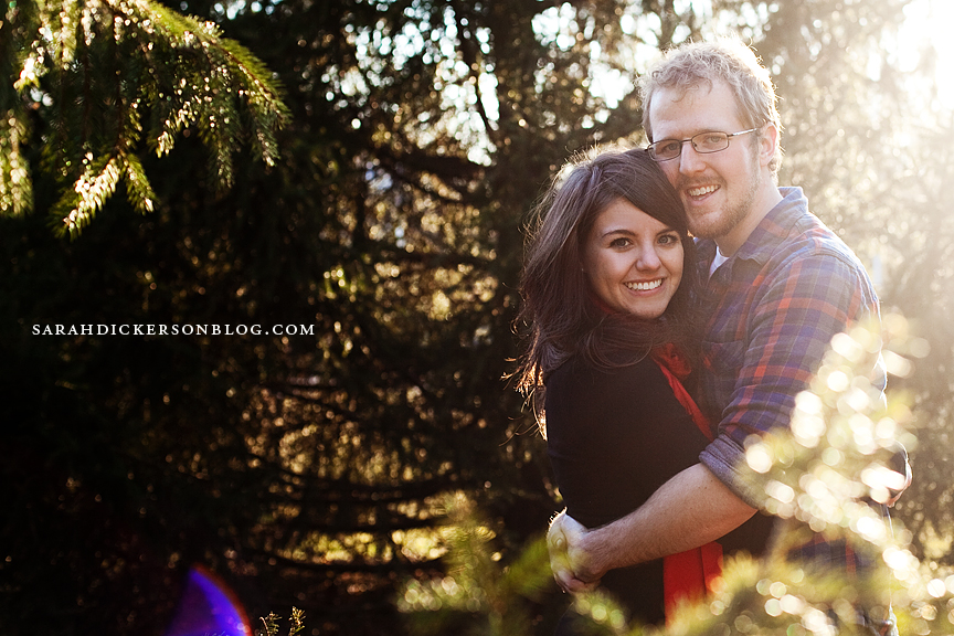 Kansas City engagement photographs