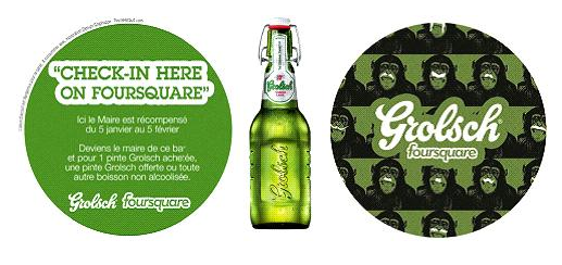 Grolsch Foursquare Paris