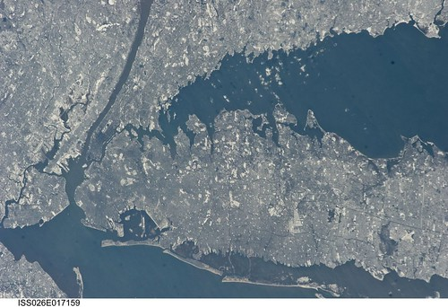 New York City in Winter (NASA, International S...