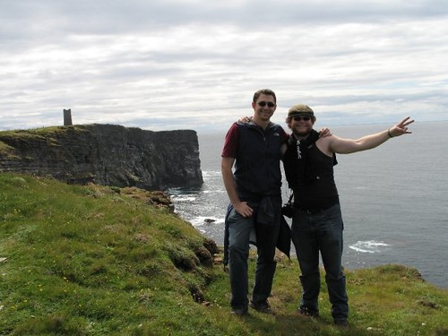 Nate and I in Orkney