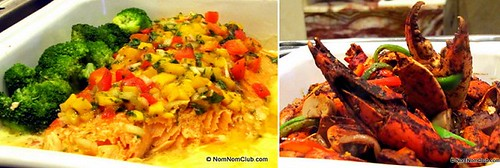 Salmon & Crabs