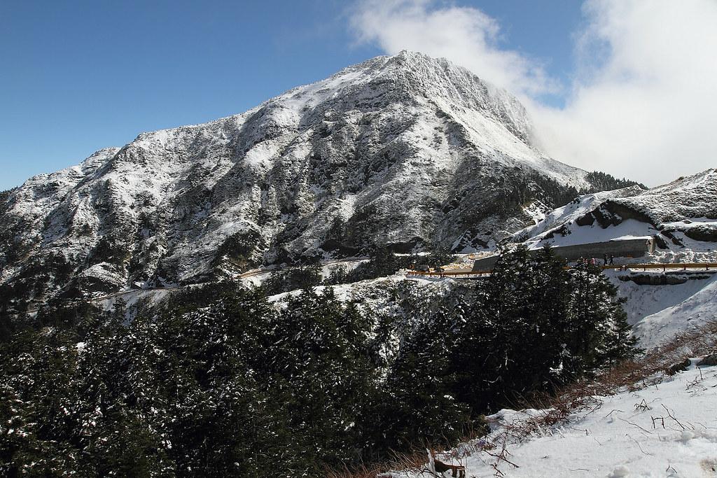 勁岳.藍天.白雪