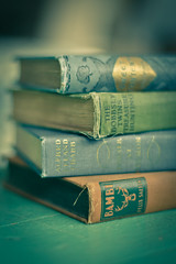 {Seams} (reny :: honey) Tags: books 5d bambi oldbooks seams antiquebooks vintagebooks vintagetones