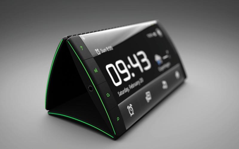 Ý tưởng thiết bị Android 3 màn hình: FLIP
