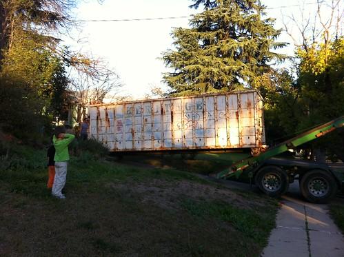 Giant dumpster!