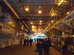 The Hangar! (Seanathon) Tags: boat ship historic portsmouth aircraftcarrier arkroyal dockyard hmsvictory