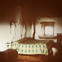 # 56 (infra-leve) Tags: home window beautiful rural vintage cozy bed bedroom ancient folk interior room atmosphere calm domestic silence ambient nostalgy decadent austere