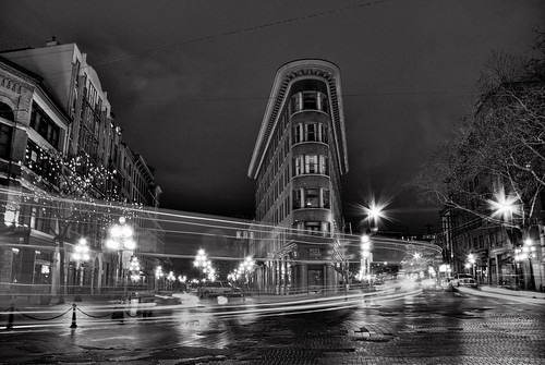 Flatiron in black and white