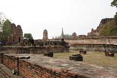 IMG_6672 (mebesaturday) Tags: orange thailand temple monk wat ayutthaya