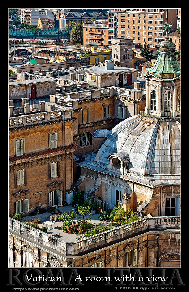 Rome - Vatican - A room with a view