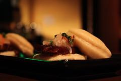Pork Belly Bao Buns (Taylor Mc) Tags: street food philadelphia dinner restaurant pennsylvania pork belly buns porn meal carrot daikon week chestnut philly mayonnaise bao baozi hoisin chifa togarashi