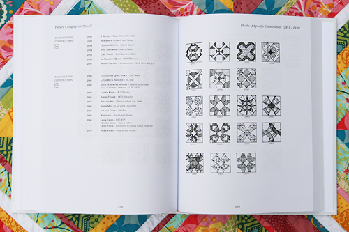 Encyclopedia Of Pieced Quilt Patterns Inside