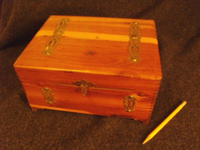 A Pirate's Chest suitable for a young boy's treasure