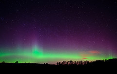 Scottish Aurora (Kenny Muir) Tags: landscape lights scotland aberdeen aurora northern borealis dunecht a900